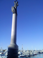 Photo of Seattle Fisherman's Memorial statue